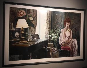 Fotografie pictura din expozitia Vogue Like a Painting