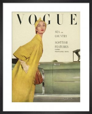 Revista Vogue din iulie 1950