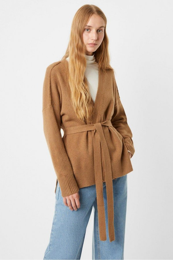 Cardigan color camel French Connection